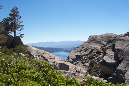 Donner Lake from PCT