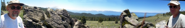 Tahoe Rim Trail segment 4