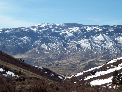 Mt. Rose from Peavine Peak SE